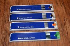 Staedtler MARS Carbon Leads 4pks (12x H , 24 x 3H , 12 x lumochrom) retro