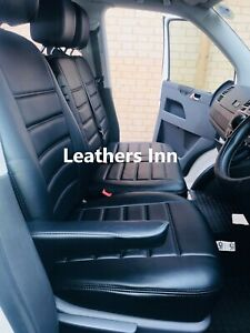 VW TRANSPORTER T5 (2004-2015) 6 Seater Leatherette Seat Covers