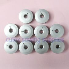 10 Aluminum Bobbins For Pfaff PowerQuilter P3 Long Arm Quilting Machine