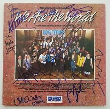 We Are The World Signed Vinyl Record Bruce Springsteen, Billy Joel and 13 MORE!