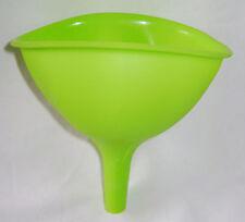 Nuevo silicona Embudo Flexible fácil almacenamiento de calor resistente Verde RSW