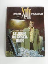 LE JOUR DU SOLEIL NOIR-XIII-DARGAUD-1995-tres bon etat