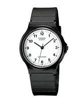 GENUINE Casio Watch MQ-24-7B NEW Unisex Quatz Black Analogue FREE SHIPPING