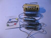Sprague Vitamin-Q Capacitor Assorted Tube Amp Radio NOS Lot of 5