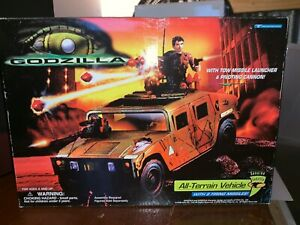 Godzilla All-Terraih Vehicle with 8 Firing Missiles