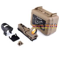 C-MORE Optics Adjustable Holographic Reflex Red Dot Sight Railway Tactical Scope
