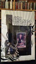 "GEORGE LYNCH  Miniature Guitar Frame ""J. Frog"" Mr. Scary Dokken 5""x7"""