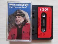 WILLIE NELSON 'THE PROMISELAND' CASSETTE, 1986 CBS, TESTED.