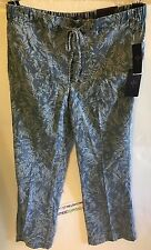 NYDJ Jamie Printed Relaxed Ankle Jeans Color Palace Leaves Size 16 BRAND NEW!