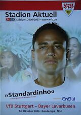 Programm 2006/07 VfB Stuttgart - Bayer Leverkusen