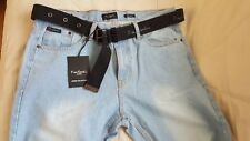 NEUF!  jeans homme Pierre Cardin et sa ceinture. W36 L30 = 44/46. Val : 79.95 E