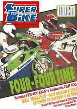 Ducati 907ie ZXR400 Yamaha FZR400RR EXUP Yamaha TDM850 KTM Racer Honda Hawk TDM