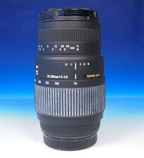 Sigma DC 70-300mm/4-5.6 Lens Objektiv für Sony / Minolta A - (44074)