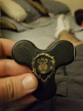 fidget spinner toy led bluetooth speaker world of warcraft  alliance obsdwowfans