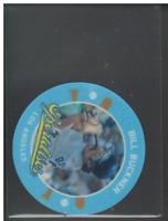 A0985 - 2013 Hometown Heroes Sport Discs Black #43 Bill Buckner - NM-MT