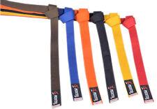 Karate suit Belt/Judo suit belt/Taekwondo Plain Coloured Cotton Belt Martial Art