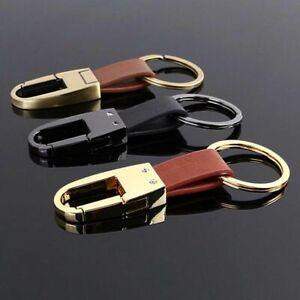 PU Leather Keychain Business Gift Leather Key Chain Men Women Car Key Strap d