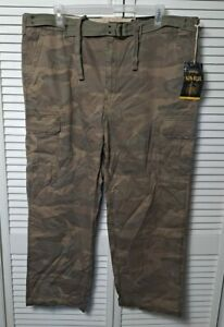 626 Blue Vintage Surplus Company New Relaxed Fit Camo Size 44x30 100% Cotton NWT