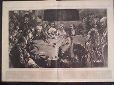 Gamblers Rouge Et Noir Trente et Quarante Casino Baden Baden Germany 1872