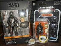 Star Wars Mandalorian | TBS/TVC Din Djarin & The Child w/ Walmart Exclusive Pin