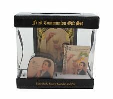 Sangre de Cristo First Communion Gift Sets - Gift Boxed BOY (WS097)