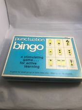 Punctuation Bingo byTrend.Fun Class Learning or Homeschool Game Up to 36 players