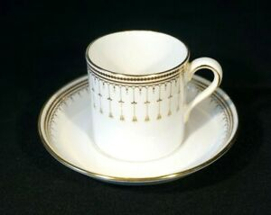 Beautiful Spode Queen's Gate Demitasse Cup And Saucer