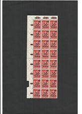 Deutsches Reich, 1923 Michelnr: 280 **, Bogenteil postfrisch, Katalogwert € 150