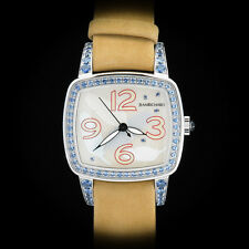 "Jean Richard Milady ""America"" High Jewelry Ladies'  Watch Sapphire MOP Rare LE"