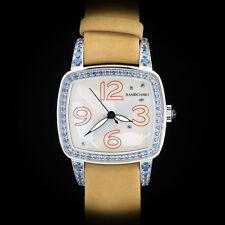 "Jean Richard Milady ""America"" High Jewelry Ladies'  Watch Sapphire MOP Rare LE"