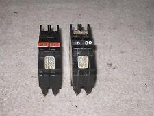 Federal Pacific 30 Amp 2 Pole NC NC230 Stab-Lok Circuit Breaker FPE Mini Twin
