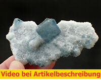 7590 Fluorit Quarz ca 5*9*3 cm Xia Yang Mine China 2020 MOVIE