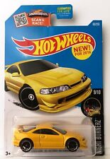 Hot Wheels CUSTOM '01 ACURA INTEGRA GSR - Yellow 2016 Night Burnerz 9/10 F case