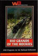 Rio Grande of the Rockies DVD D&RGW Sapinero RARE STUFF
