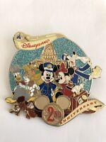HKDL - 2nd Anniversary Jumbo Disney Pin (B6)