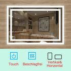 LED BAD SPIEGEL Badezimmerspiegel mit Beleuchtung Badspiegel Touch Anti-Beschlag