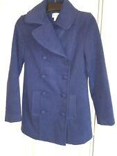 La redoute Size 8 Blue Double Breasted Coat Unworn