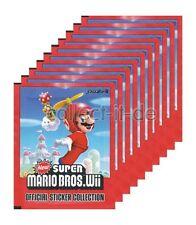 New Super Mario Bros. Wii - Sammelsticker - 10 Tüten