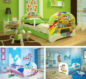 Toddler Bed Children Bed Kids Bed + FREE  MATTRESS !!!! 140x70 160x80