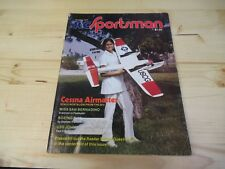 VINTAGE RC SPORTSMAN MAGAZINE OCT 1975 AIRPLANE MODELS CESSNA COVER AND MORE !!