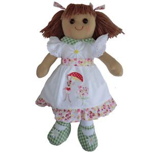 Personalised Powell Craft Rabbit Dress Rag Doll - Fabric Doll, Child's Gift