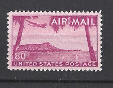 US Scott # C46 $.80 Diamond Head HI. 1952 Airmail Stamp MNH