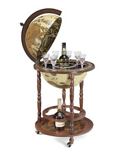 Globe Bar Globe Drink Cabinet Ivory Made in Italy w/ Certificate of Authenticity