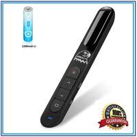 Powerpoint clicker with Laser Pointer, Volume Control Wireless Presenter OPROLLA