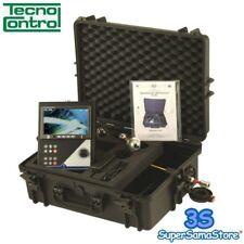"""3S TELECAMERA 360° CON JOYSTICK VIDEO ISPEZIONE MONITOR COLORI 7"""" TECNOCONTROL"""