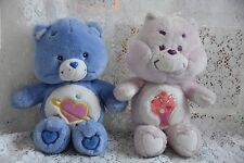 Care Bears Plush 2004 Talking Day Dream And 1984 Share Bear 13""