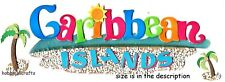 EK Success Jolee'S BOUTIQUE STICKERS 3D-Vacances Sable Ocean îles des Caraïbes