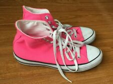CONVERSE Pink  High Top Chuck Taylor All Stars - Size 9 Womens/ 7 Men Excellent
