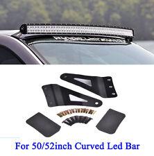 50/52inch Curved Led Light Bar Mounting Bracket For GMC/Chevy Silverado Car