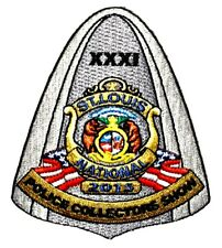 """ST LOUIS NATIONAL POLICE COLLECTOR SHOW 2015 MISSOURI MO Sheriff Police Patch 4"""""""